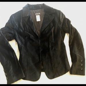 Patrizia Pepe Firenze Black Velvet Blazer